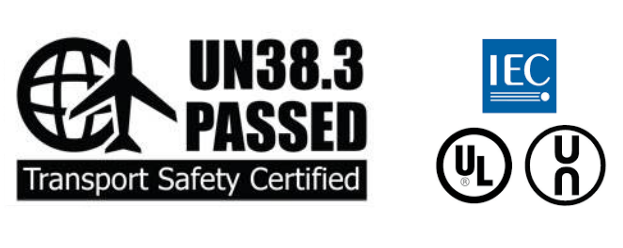 POWER 5 Transport safety certified