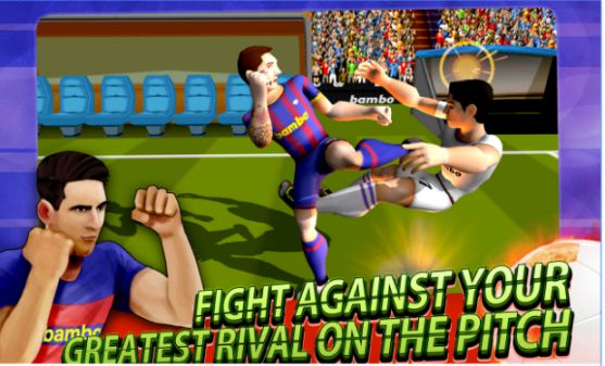 FOOTBALL PLAYERS FIGHT SOCCER