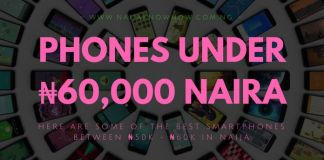 Best Phones Under 60000 Naira in Nigeria - (50K_60K SMARTPHONES)