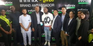 Infinix signs davido as ambassador