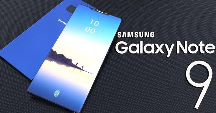 Samsung Galaxy Note 9 Blue