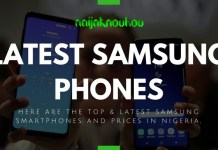 LATEST SAMSUNG PHONES AND PRICES IN NIGERIA