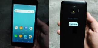 Samsung's first Android Go phone (model SM-J260)