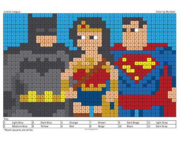 Justice League Camera Pixels