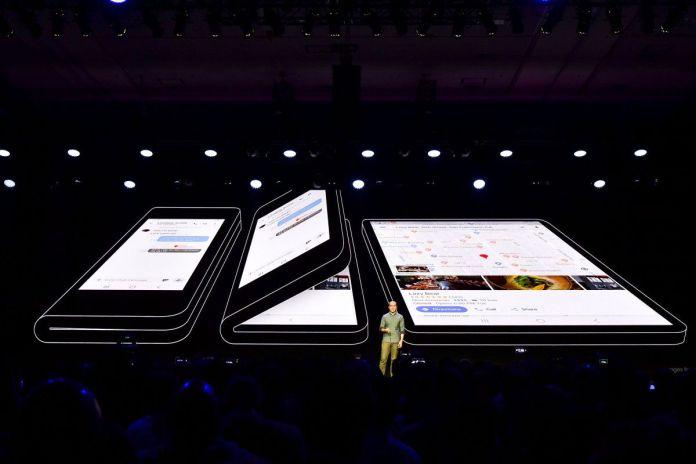 Samsung vouwbare smartphone