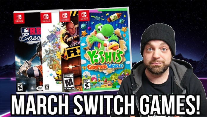 Nintendo Switch Games for March 2019