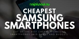BEST CHEAP SAMSUNG PHONES