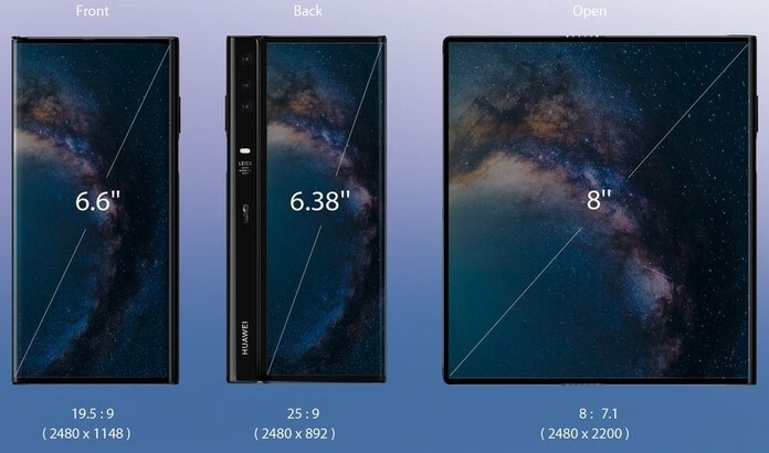 Huawei Mate X Display