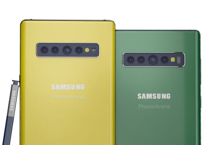 Samsung galaxy note 10 leak
