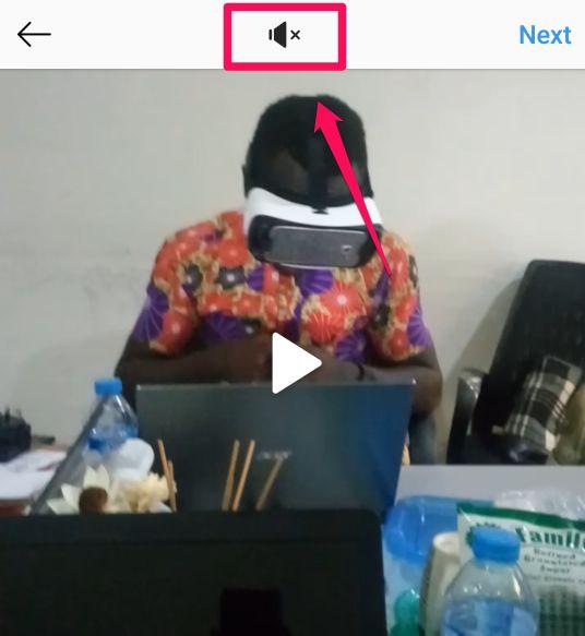 mute videos