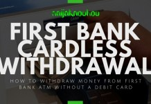 first bank cardless withdrawal