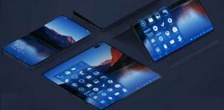 microsoft folding screen rumour