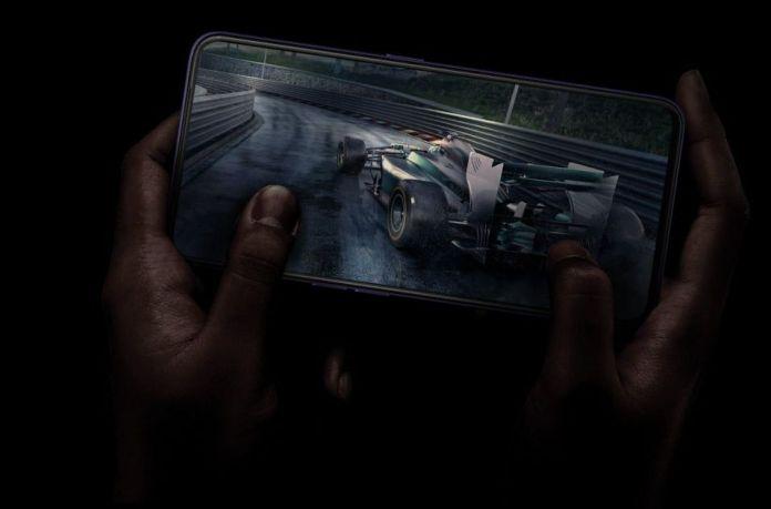 oppo full screen phone for gaming