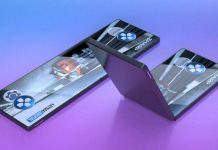 sharp folding screen smartphone prototype