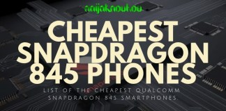 cheap snapdragon 845 phones