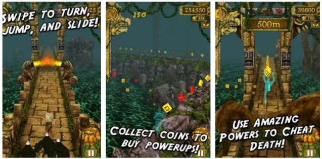 temple run - best offline games for kids