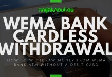 wema bank cardless withdrawal