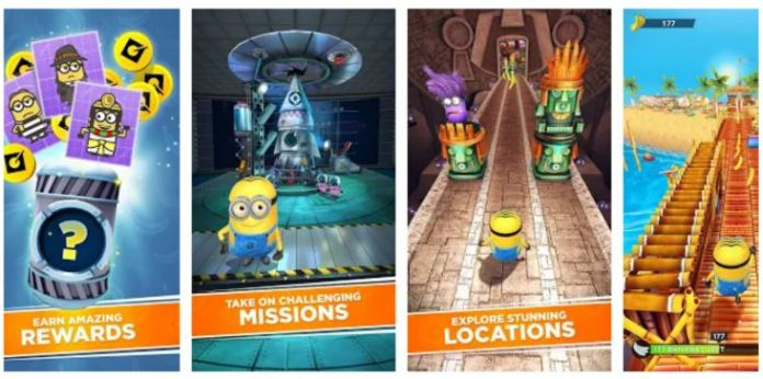 Minion Rush - Despicable Me Official Game
