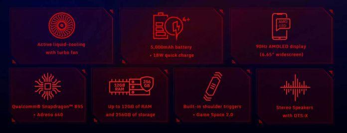 zte nubia red magic 3 features