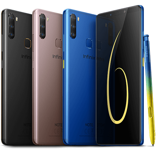 Infinix NOTE 6 Colours