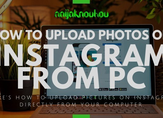 upload photos on instagram from pc