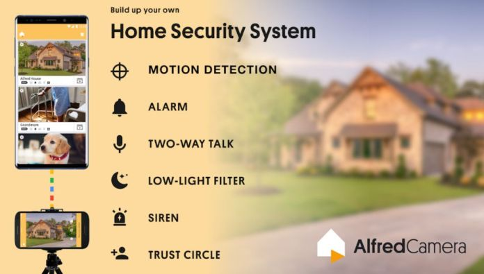 Alfred Home Security Camera