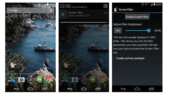 Screen Filter - best screen dimmer app