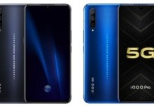 Vivo iQOO Pro 4G LTE and 5G