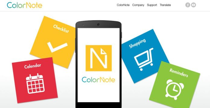 Color Note - Note Taking Apps