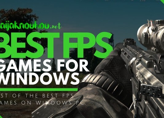 best fps games for windows pc
