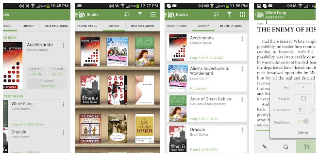 Aldiko Book Reader - apps to read books for free