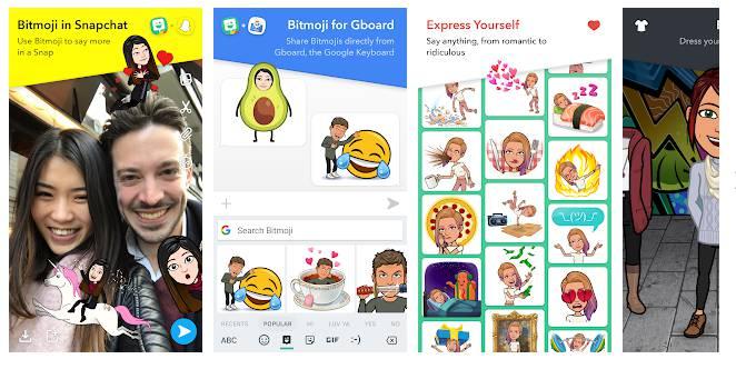 Bitmoji - Best Avatar Maker Apps