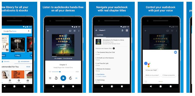 Google Play Books - apps to read books for free