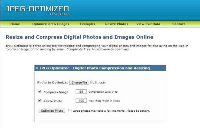 JPEG Optimizer