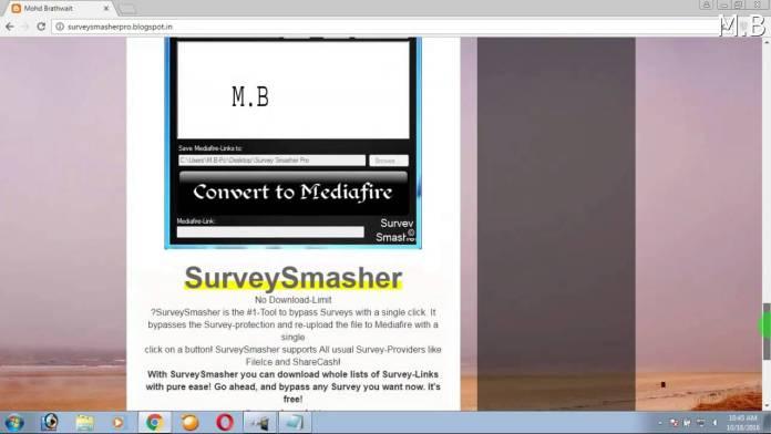 Survey Smasher Pro