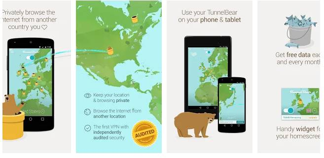 TunnelBear VPN - nordvpn alternative