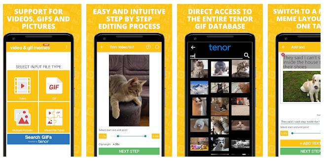 Video & GIF Memes PRO - best meme generator apps for android