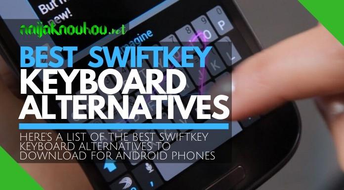 best swiftkey keyboard alternatives
