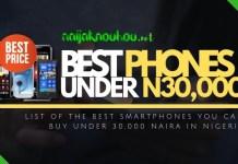 phones under 30000 naira