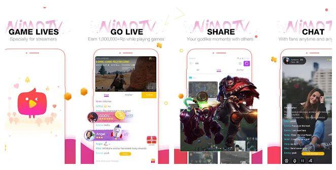 Nimo TV for Streamer - game streaming app