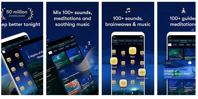 Relax Melodies - android app for healthy sleep