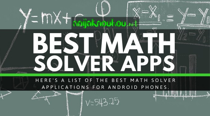 best math solver apps android