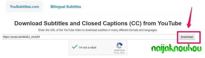 download link subtitle