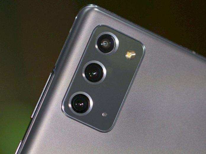 Samsung Galaxy Note 20 rear camera