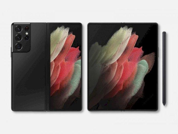 Design Concept Samsung Galaxy Z Fold 3