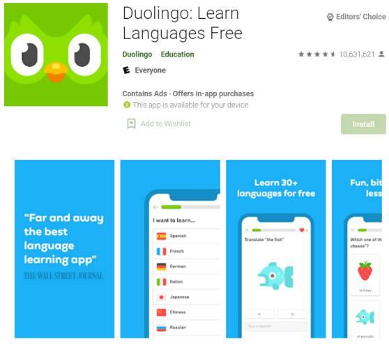 Duolingo - English Learning Apps