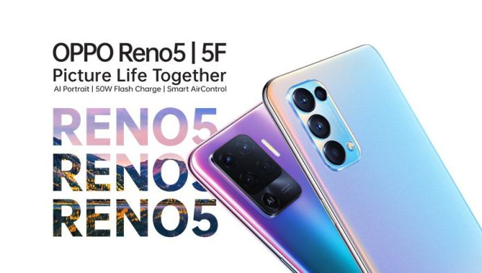 oppo reno 5 and 5f
