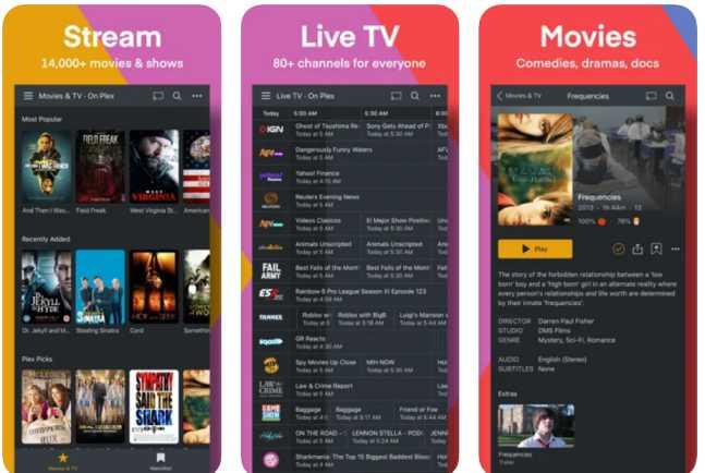 plex - cinema movie apps