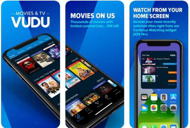 vudu - cinema movie apps