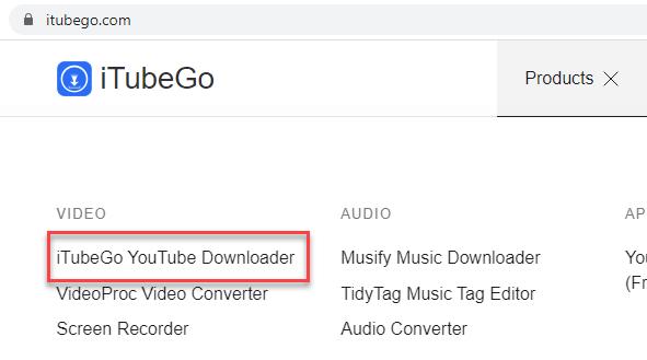 Download-iTubeGO